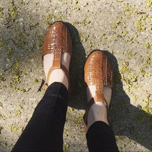 Vintage Woven Shoes